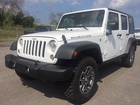 2017 Jeep Wrangler Unlimited for sale in Auto Place, ON
