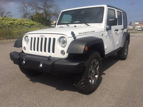 2017 Jeep Wrangler Unlimited for sale in Auto Place ON