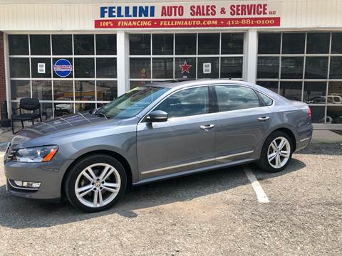 2014 Volkswagen Passat for sale at Fellini Auto Sales & Service LLC in Pittsburgh PA