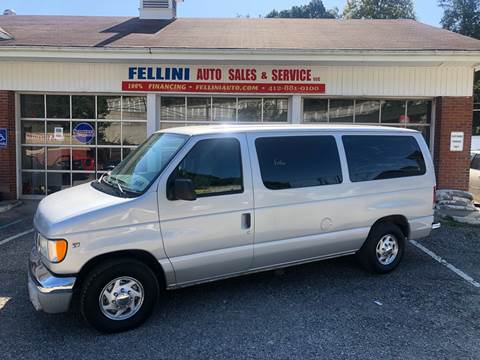 2002 Ford E-Series Wagon for sale in Pittsburgh, PA