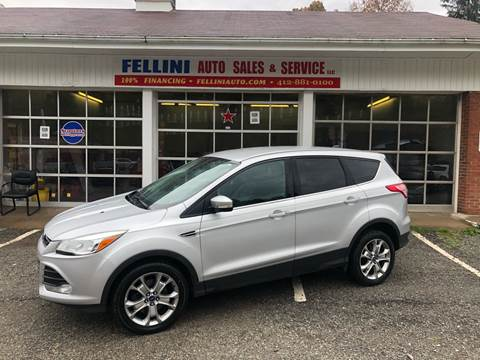 2013 Ford Escape for sale at Fellini Auto Sales & Service LLC in Pittsburgh PA