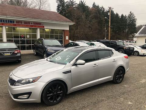2011 Kia Optima for sale at Fellini Auto Sales & Service LLC in Pittsburgh PA