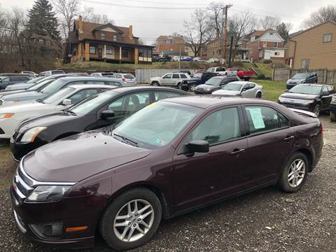 2011 Ford Fusion for sale at Fellini Auto Sales & Service LLC in Pittsburgh PA
