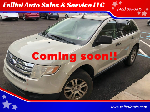 2007 Ford Edge for sale at Fellini Auto Sales & Service LLC in Pittsburgh PA
