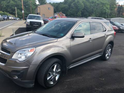 2012 Chevrolet Equinox for sale at Fellini Auto Sales & Service LLC in Pittsburgh PA