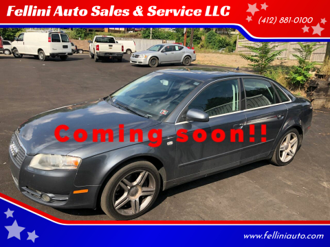 2007 Audi A4 for sale at Fellini Auto Sales & Service LLC in Pittsburgh PA