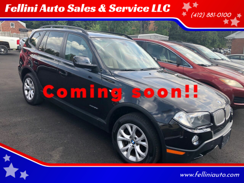 2010 BMW X3 for sale at Fellini Auto Sales & Service LLC in Pittsburgh PA