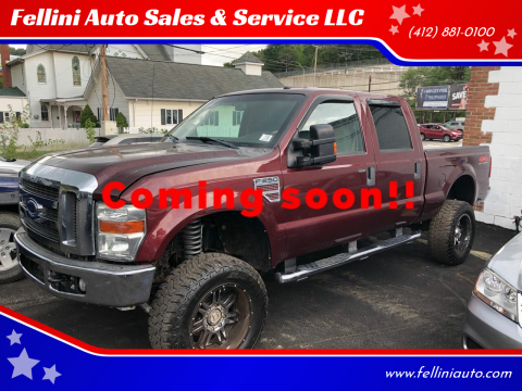 2009 Ford F-250 Super Duty for sale at Fellini Auto Sales & Service LLC in Pittsburgh PA