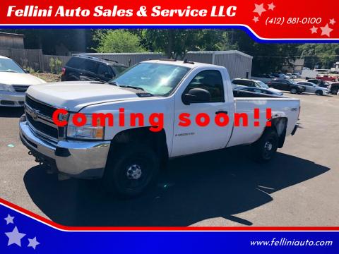 2009 Chevrolet Silverado 2500HD for sale at Fellini Auto Sales & Service LLC in Pittsburgh PA