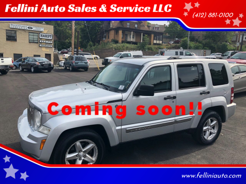 2008 Jeep Liberty for sale at Fellini Auto Sales & Service LLC in Pittsburgh PA