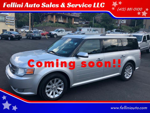 2011 Ford Flex for sale at Fellini Auto Sales & Service LLC in Pittsburgh PA