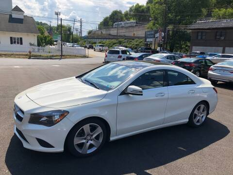2015 Mercedes-Benz CLA for sale at Fellini Auto Sales & Service LLC in Pittsburgh PA