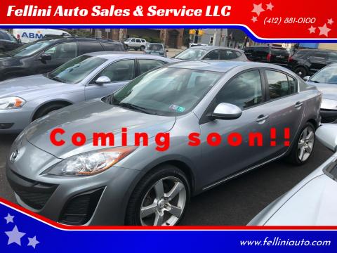 2010 Mazda MAZDA3 for sale at Fellini Auto Sales & Service LLC in Pittsburgh PA