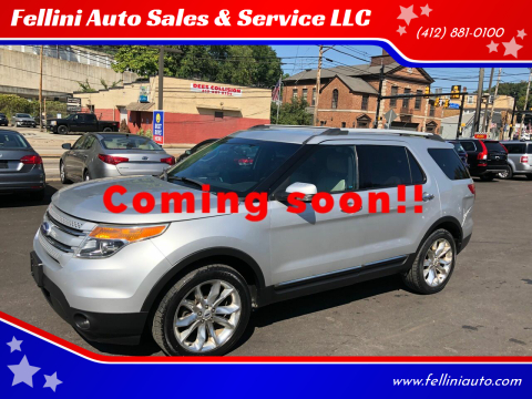 2012 Ford Explorer for sale at Fellini Auto Sales & Service LLC in Pittsburgh PA