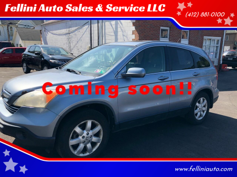 2009 Honda CR-V for sale at Fellini Auto Sales & Service LLC in Pittsburgh PA