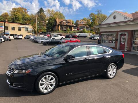 2017 Chevrolet Impala for sale at Fellini Auto Sales & Service LLC in Pittsburgh PA