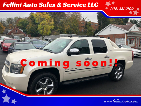 2011 Chevrolet Avalanche for sale at Fellini Auto Sales & Service LLC in Pittsburgh PA