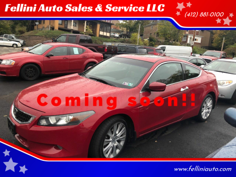 2008 Honda Accord for sale at Fellini Auto Sales & Service LLC in Pittsburgh PA