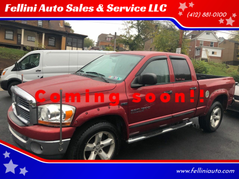 2006 Dodge Ram Pickup 1500 for sale at Fellini Auto Sales & Service LLC in Pittsburgh PA