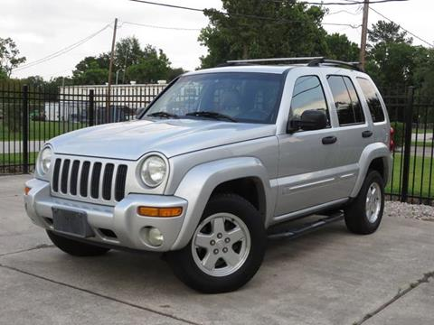2002 Jeep Liberty for sale in Spring, TX