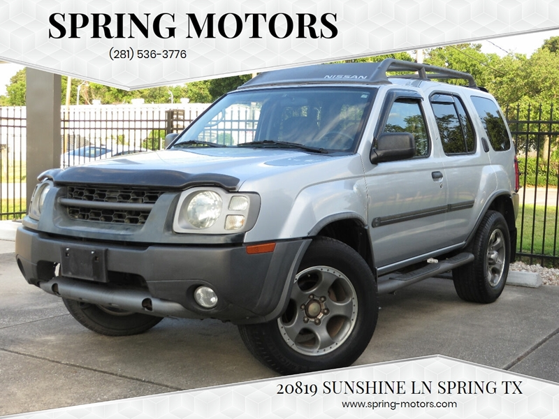2002 Nissan Xterra 4dr Se Supercharged Suv 2wd In Spring Tx Spring