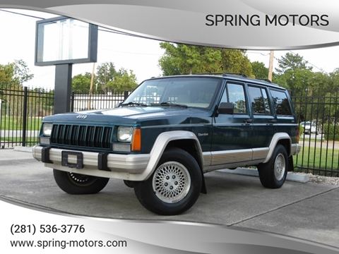 1996 Jeep Cherokee for sale in Spring, TX