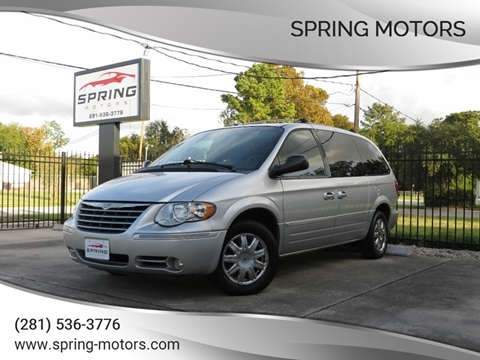 2006 Chrysler Town and Country for sale in Spring, TX