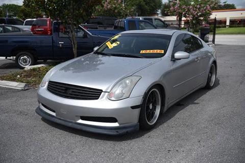 2003 Infiniti G35 for sale in Orlando, FL
