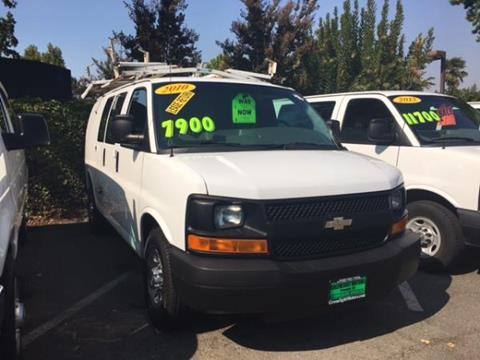 2010 Chevrolet Express Cargo for sale in Fremont CA