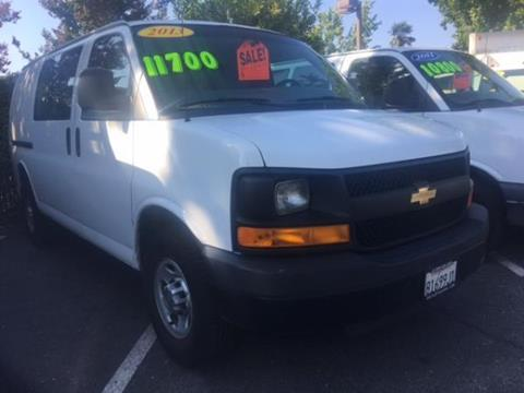 2013 Chevrolet Express Cargo for sale in Fremont, CA