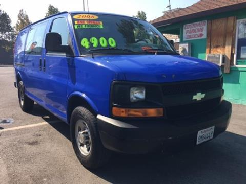 2008 Chevrolet Express Cargo for sale in Fremont CA