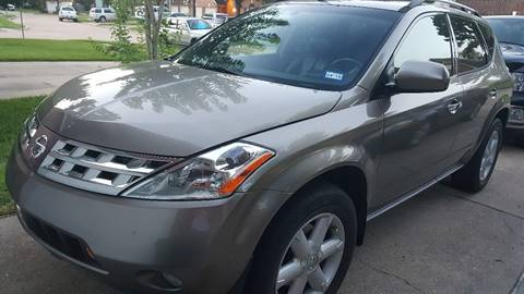2003 Nissan Murano for sale in Cypress, TX