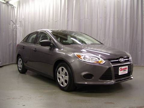 2013 Ford Focus for sale at QUADEN MOTORS INC in Nashotah WI