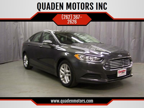 2015 Ford Fusion for sale in Nashotah, WI