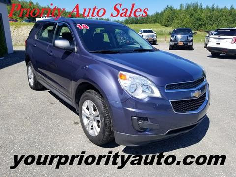 2014 Chevrolet Equinox for sale in Houlton, ME