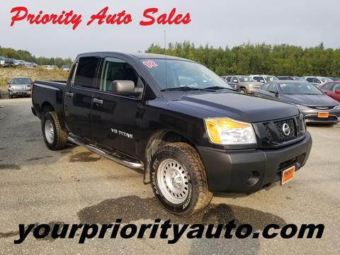 2012 Nissan Titan for sale in Houlton, ME