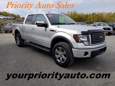 2012 Ford F-150 for sale in Houlton, ME