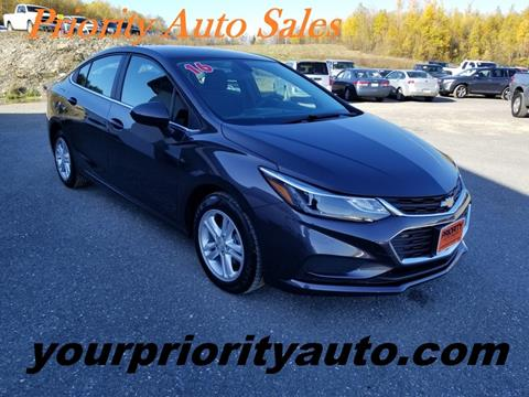 2016 Chevrolet Cruze for sale in Houlton, ME