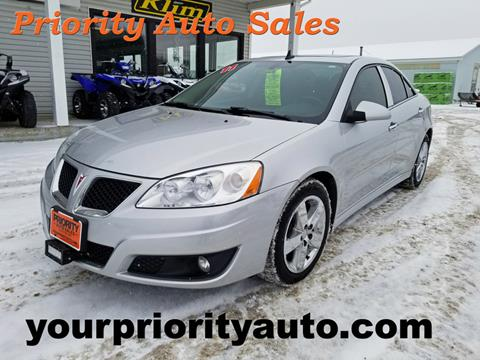 2010 Pontiac G6 for sale in Houlton, ME