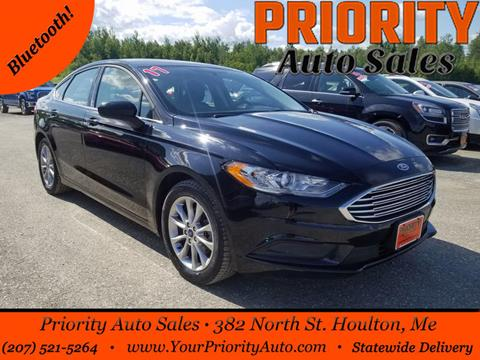 2017 Ford Fusion for sale in Houlton, ME