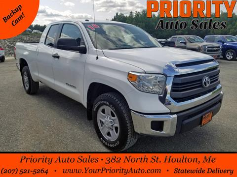 Toyota Tundra For Sale In Maine >> 2014 Toyota Tundra For Sale In Houlton Me