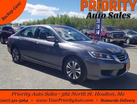 2015 Honda Accord for sale in Houlton, ME
