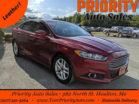 2016 Ford Fusion for sale in Houlton, ME