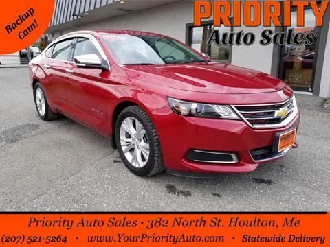 2014 Chevrolet Impala for sale in Houlton, ME