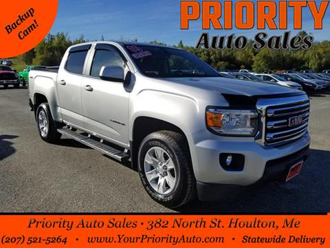 2015 GMC Canyon for sale in Houlton, ME