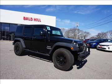 2012 Jeep Wrangler Unlimited for sale in Warwick, RI