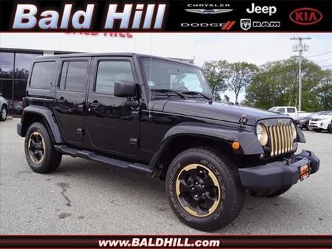 2014 Jeep Wrangler Unlimited for sale in Warwick, RI