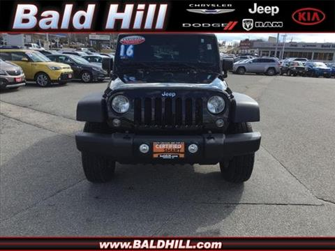 2016 Jeep Wrangler Unlimited for sale in Warwick, RI