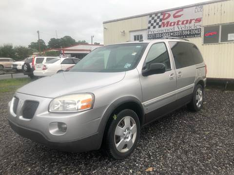 2009 Pontiac Montana SV6 for sale in Opelousas, LA