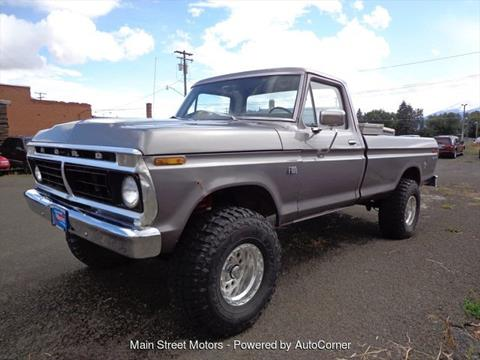 1975 Ford F-100 for sale in Enterprise, OR
